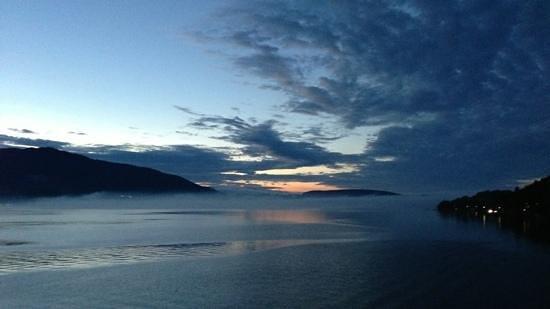 Seehotel Luitpold: See bei Sonnenuntergang