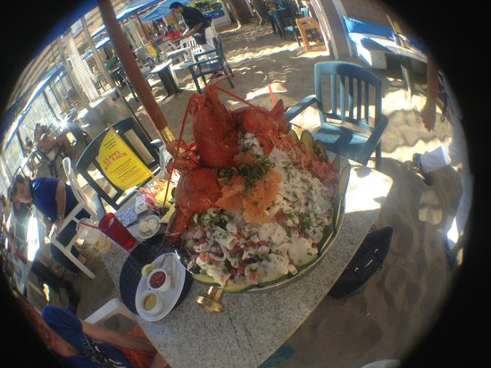 Paradise Cove : Seafood Tower