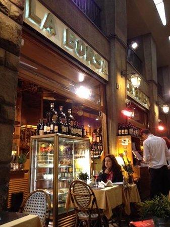 Bar La Borsa: cenando en Florencia