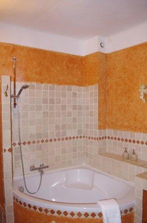 La Royante : Spacious shower/ bathtub