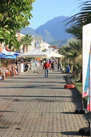 Seastar Aparthotel: nærliggende strandpromenade
