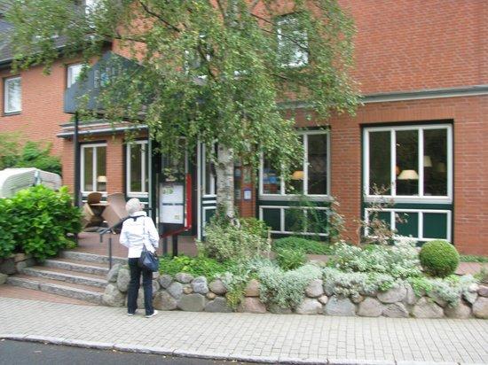 Hotel Birke: Hotel Eingang