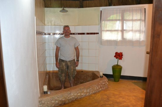 Pioneer Lodge & Camp: The great shower!
