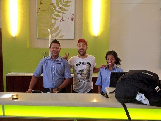 StayEasy Pietermaritzburg : Friendly staff