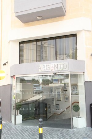 Argento Hotel : Entrence