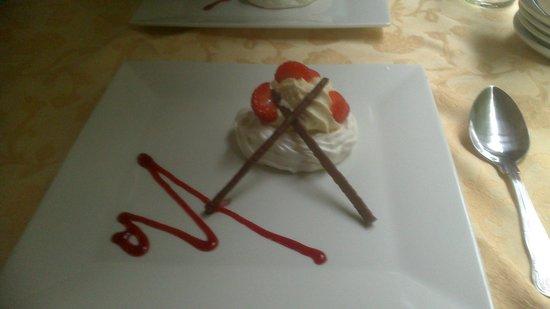 Gwili Railway: pudding ...pavlova