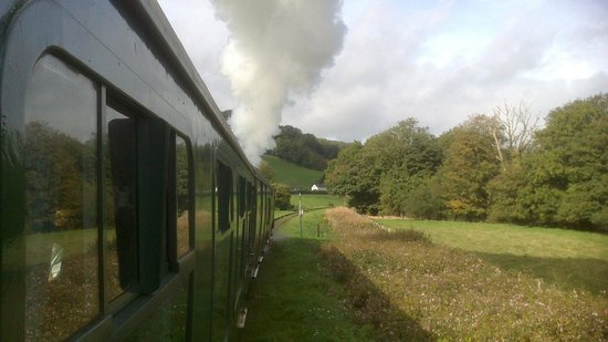 Gwili Railway: lovely views...best way to travel