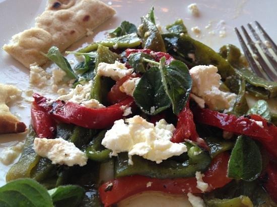 El Meze Restaurant: poblano appetizer