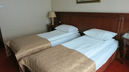 Crystal Palace Boutique Hotel: Room with two twin beds