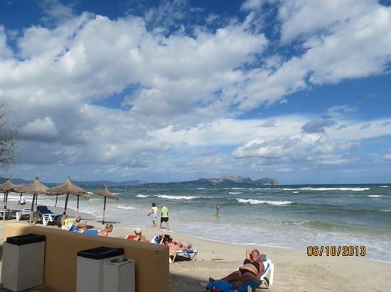 Hotel JS Miramar: the beach near miramar hotel