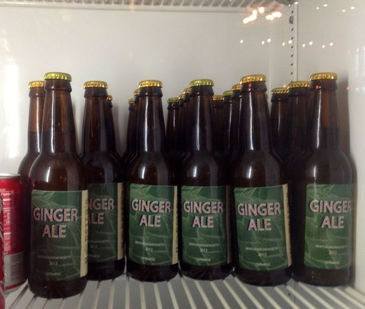Hopsters Brew & Boards: Hopster's own ginger ale!