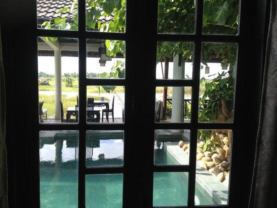 Riverside Impression Homestay: View at the swimming pool