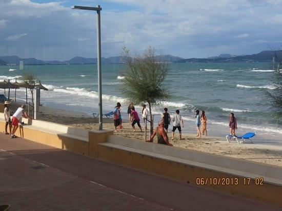 Hotel JS Miramar: football on the beach