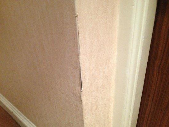 Millennium Hotel London Mayfair: Hall corridor damage