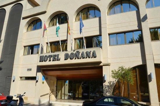 ingang hotel Macia Donana