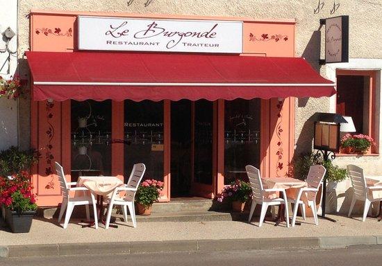 Le Burgonde : La devanture du restaurant !
