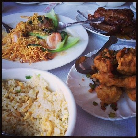 Blue Moon Chinese Restaurant: Chinese feast