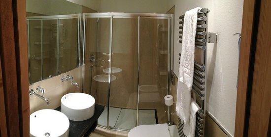 Hotel San Lorenzo: Badezimmer