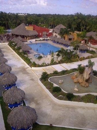 Sirenis Punta Cana Resort Casino & Aquagames: Inclusive buffet+bar at waterpark!