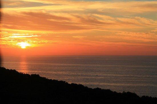 Agriturismo Amandolo: tramonto