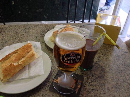El Cafe d'en Victor i Anna: Almuerzo