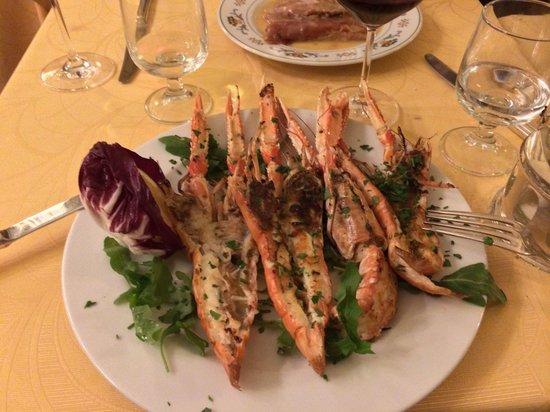 Taverna Flavia: Shrimp Scampi