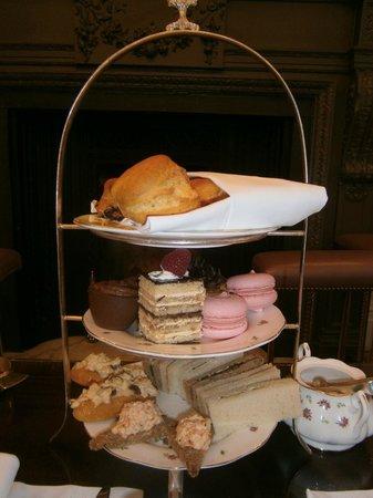 The Lyttelton: Afternoon tea.