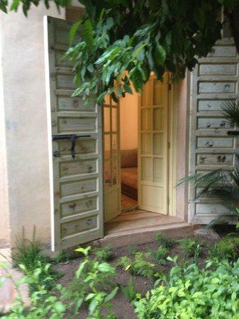 Les Jardins de la Medina: de la terrasse de la chambre