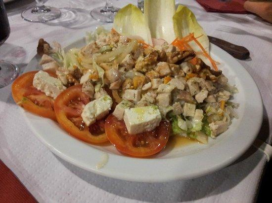 Restaurante Rosa Dels Vents: Ensalada griega