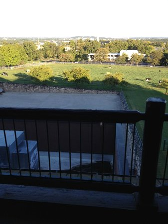 The Keeter Center at College of the Ozarks: View from balcony in room 302