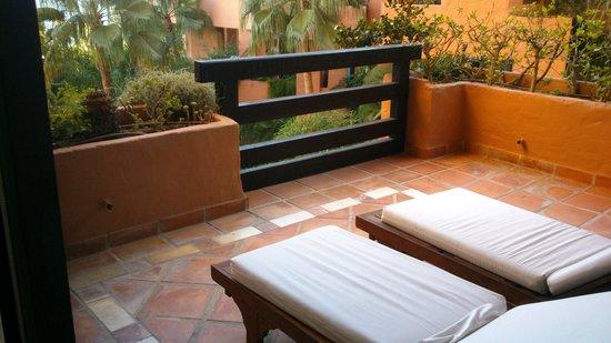 Kempinski Hotel Bahía: terraza