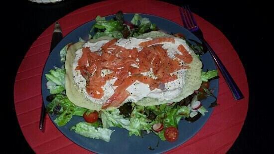 L'ASSIETTE DES MONDES: blinis marocain de saumon