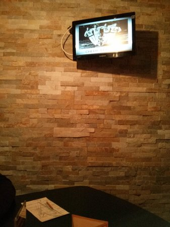 The Harp Bar and Grill: private booth