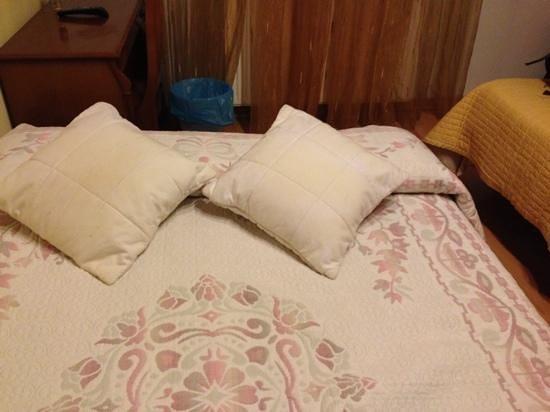 Pension Girasol: colchón de espuma