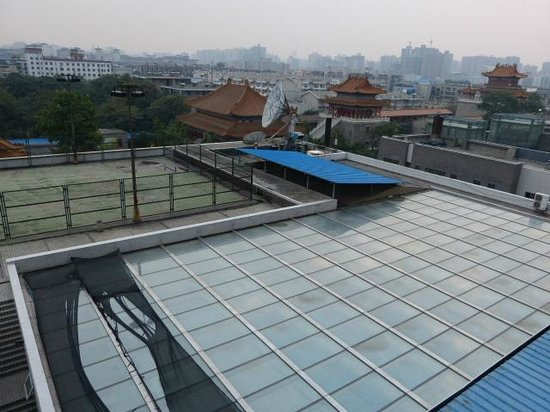 Gudu Wenhua Hotel: view from our room
