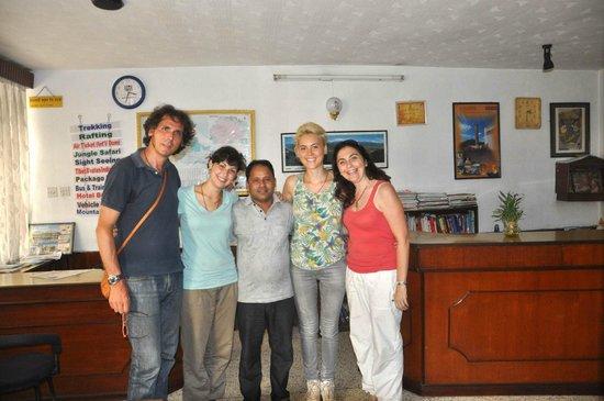 Kathmandu Madhuban Guest House: before flying back to Italy