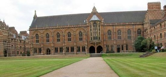 Keble College : Quad.