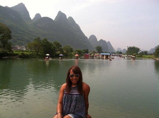 China Culture Tour : Limestone in Guilin-Yanshou day trip