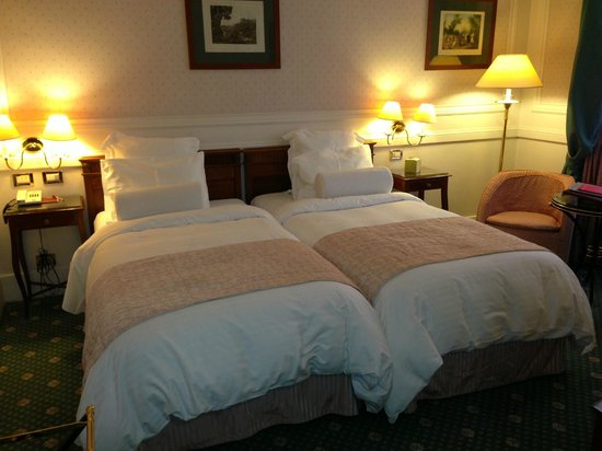 Rome Marriott Grand Hotel Flora : Nice comfortable beds