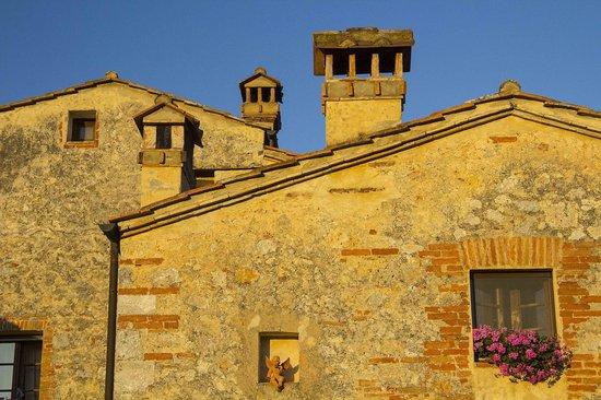 B&B La Canonica di San Michele: Sunset at LaCanonica di Fungia
