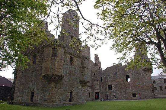 Remains of the Earl's Palace at Kirkwall, Scotland