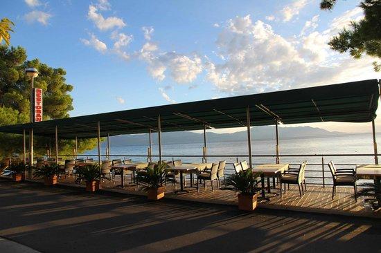 Hotel Saudade: Hotel restaurant terrace