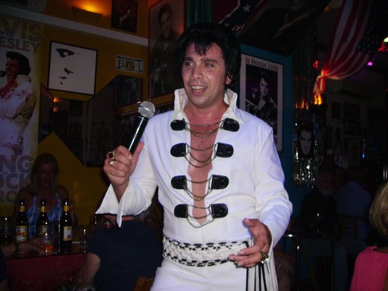 The Elvis Tribute Bar And Diner: Redant