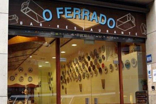 Restaurante O Ferrado : Bienvenidos