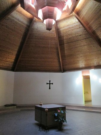 New Camaldoli Hermitage: Meditation hall