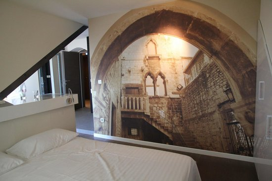 La Porta Luxury Rooms: Deluxe room seaview with balcony