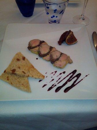 L'Atre : Foie gras, chutney de figues et réduction de banyuls