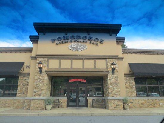 Pomodoro's: entrance