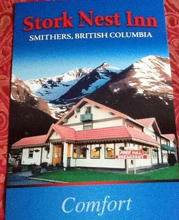 Stork Nest Inn : What's advertised....