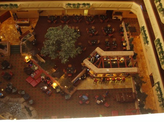 Albuquerque Marriott Pyramid North: Atrium